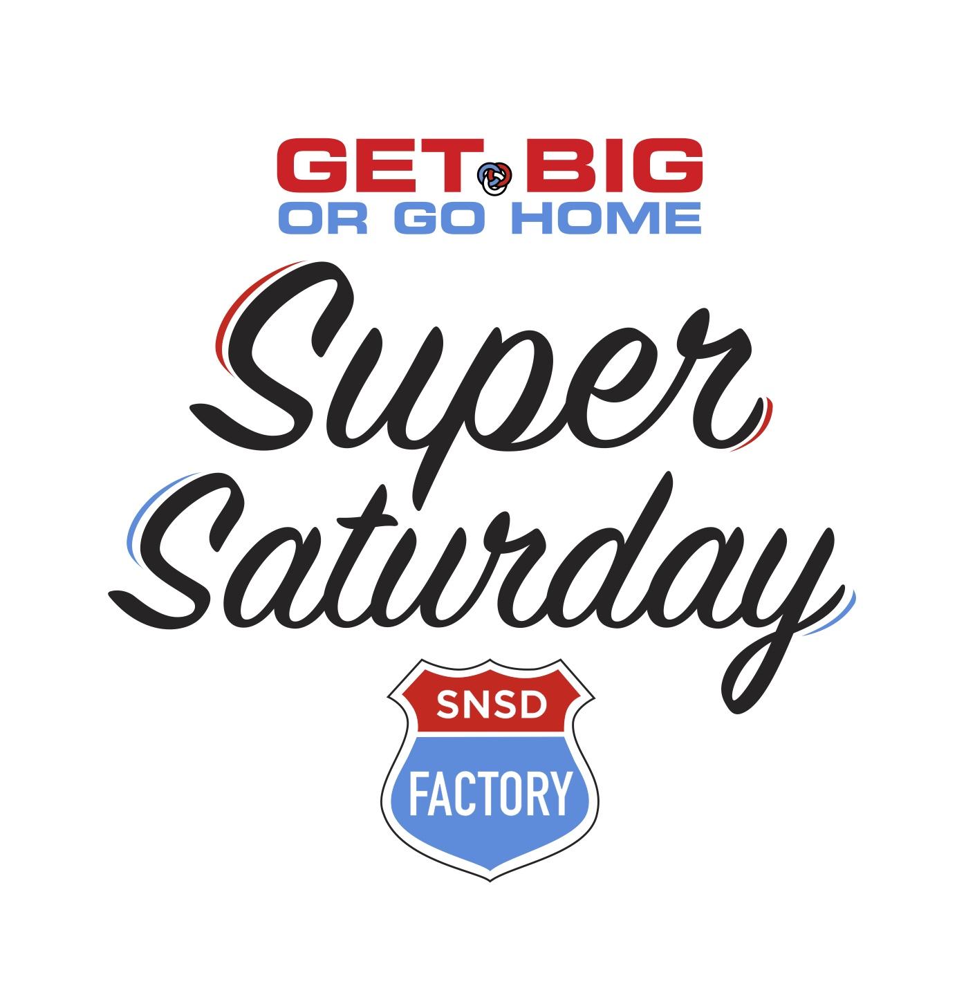 Super Saturday logo 2018